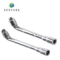 Kee Pang 6Mm 7Mm Hexagonal Wrench L-Shaped Screw Nut Wrench Sleeve Maintenance Tool Sleeve Wrench For Ender 3 E3D Mk8 Nozzle