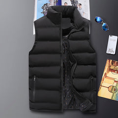 New Arrival Men Vest Sleeveless Jacket 8Xl Male Winter Warm Casual Waistcoat Mens Vest Plus Size Veste Homme Brand Clothing K126