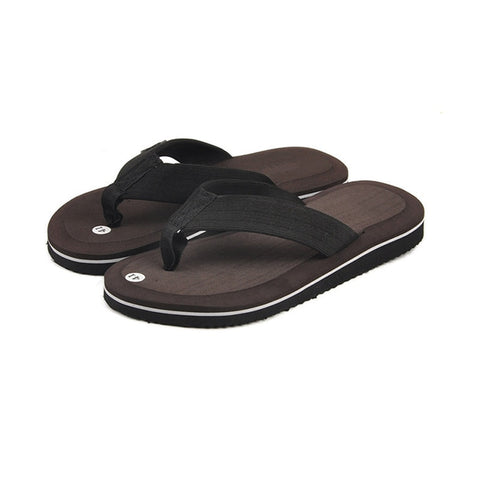 Summer Fashion Men'S Flip Flops Beach Sandals For Men Flat Slippers Non-Slip Shoes Plus Size Leisure Soft Massage Slides Thongs