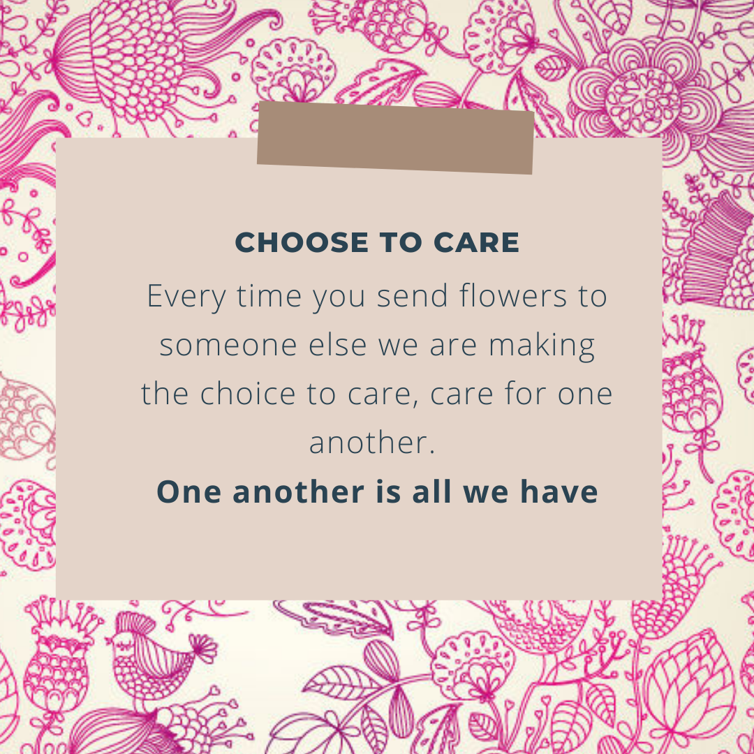 I choose to Care, what's your choice?