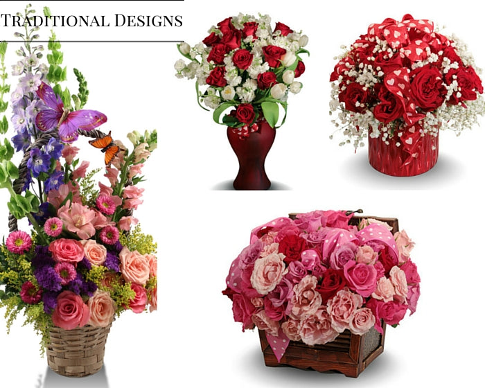Traditional Floral arrangements flowers delivery Miami-hialeah