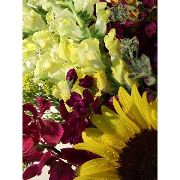 Burst of Sunshine - flowersbypouparina.com