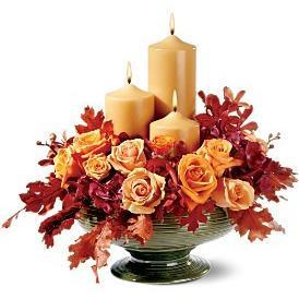 Candle of Autumn - flowersbypouparina.com