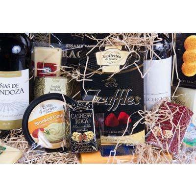 Corporate Gourmet Basket - flowersbypouparina.com