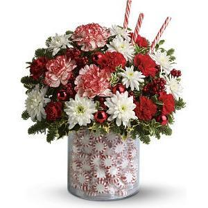 Double Holiday Surprise Bouquet - flowersbypouparina.com