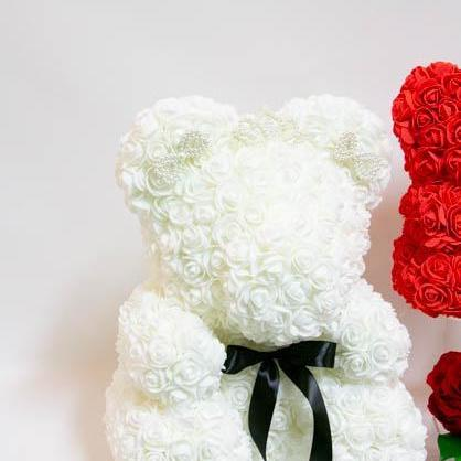 Flower Teddy Bears - flowersbypouparina.com