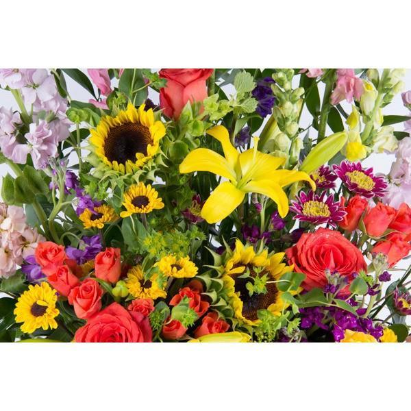 Golden Fair Basket - flowersbypouparina.com