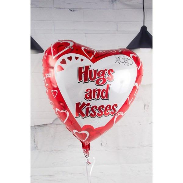 Hug & Kisses Balloon - flowersbypouparina.com