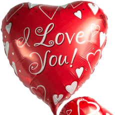 I Love you Balloon - flowersbypouparina.com