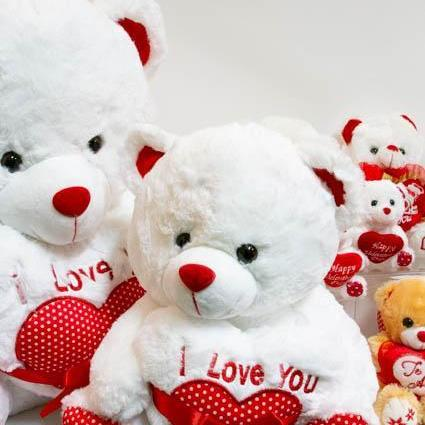 I love you Teddy Bear - Large - flowersbypouparina.com
