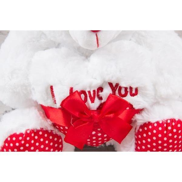 I love you Teddy Bear - Medium - flowersbypouparina.com