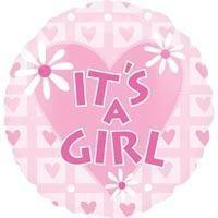 Its a Girl Balloon - flowersbypouparina.com