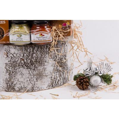 Let It Snow Holiday Gift Basket - flowersbypouparina.com