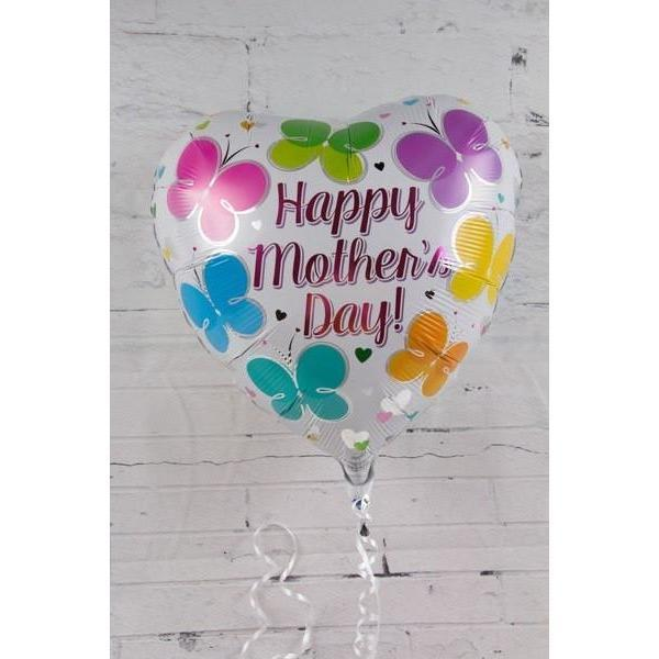 Mother's day Balloon with butterflies - flowersbypouparina.com