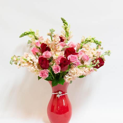 Our Hearts Bouquet - flowersbypouparina.com