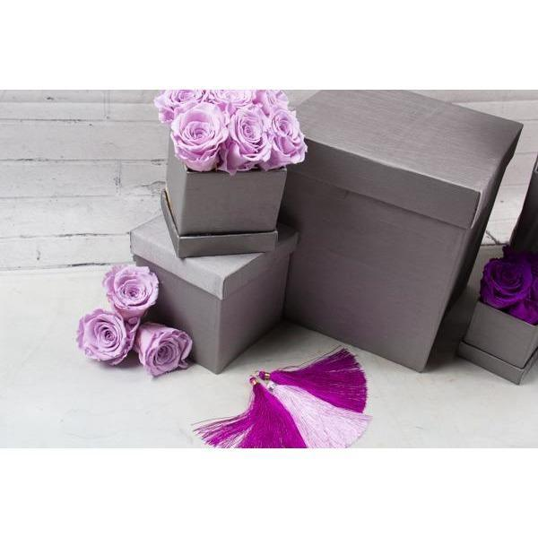 Preserved Roses - Purple and Lavender - flowersbypouparina.com