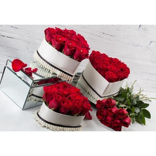 Preserved Roses - Red Roses - flowersbypouparina.com