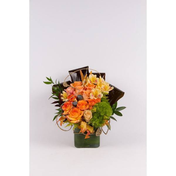 Simply Fall Flowers - flowersbypouparina.com
