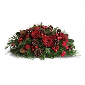 Spirit of the Season Centerpiece - flowersbypouparina.com