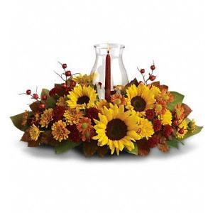 Sunflowers Centerpiece - flowersbypouparina.com
