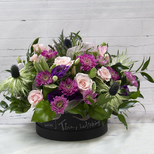 The Message Box Flowers - flowersbypouparina.com