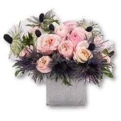 Tin in Pink - flowersbypouparina.com