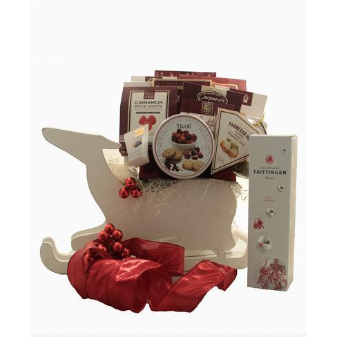 Ultimate Holiday Deer Basket - flowersbypouparina.com