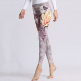 """Flower of Beauty"" Leggings - LovelyMojo"