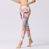 """Peacock"" Leggings - LovelyMojo"