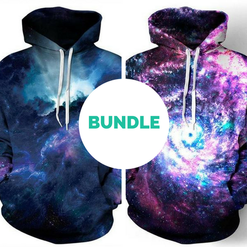 Deep Galaxy Hoodie Bundle - LovelyMojo