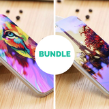 King of the Jungle & Eiffel Tower iPhone Case Bundle - LovelyMojo