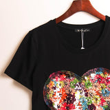 """Summer Heart"" T-Shirt - LovelyMojo"