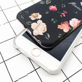 """Classical Retro Flowers"" iPhone Case - LovelyMojo"