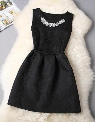 Black Vestido De Festa Dress - LovelyMojo