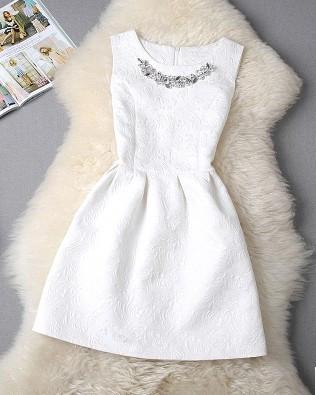 White Vestido De Festa Dress - LovelyMojo