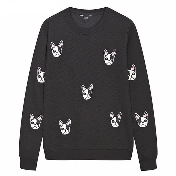 """Dog Pattern"" Sweatshirt - LovelyMojo"