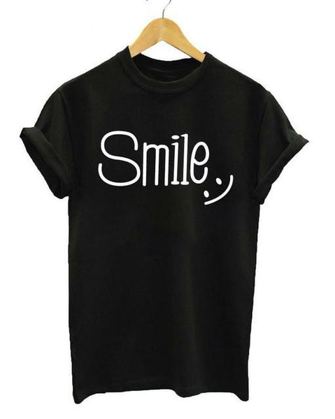 """Smile"" T-shirt - LovelyMojo"