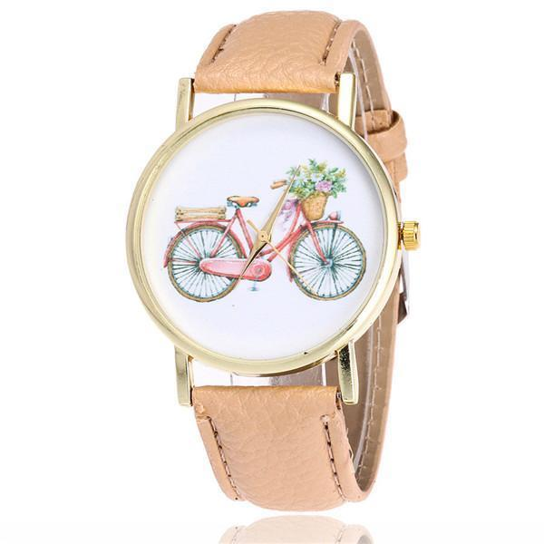 """Life Is A Bicycle"" Watch - LovelyMojo"
