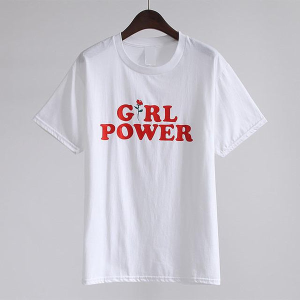 """Girl Power"" T-Shirt - LovelyMojo"