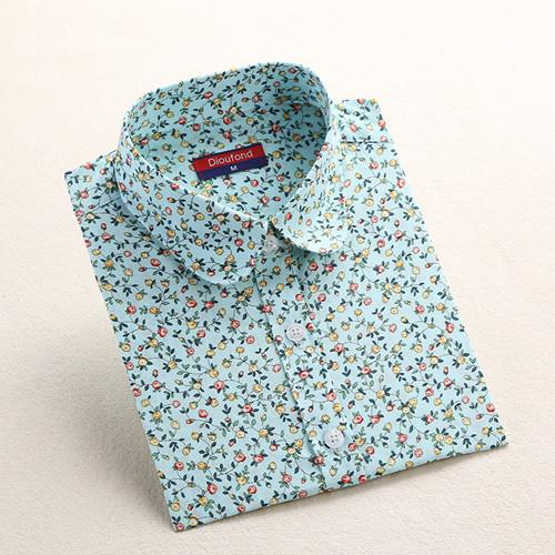 """Mint Flower"" Women's Shirt - LovelyMojo"
