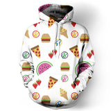 """Love of Food"" Hoodie - LovelyMojo"