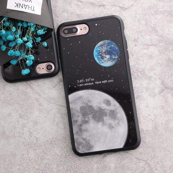 """I'm Always Here With You"" iPhone Case - LovelyMojo"