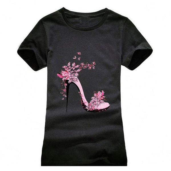 """High-Heeled"" T-Shirt - LovelyMojo"
