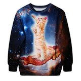 """Unicorn Cat"" Sweatshirt - LovelyMojo"