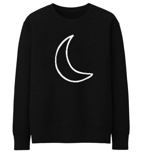 """Crescent Moon"" Sweatshirt - LovelyMojo"