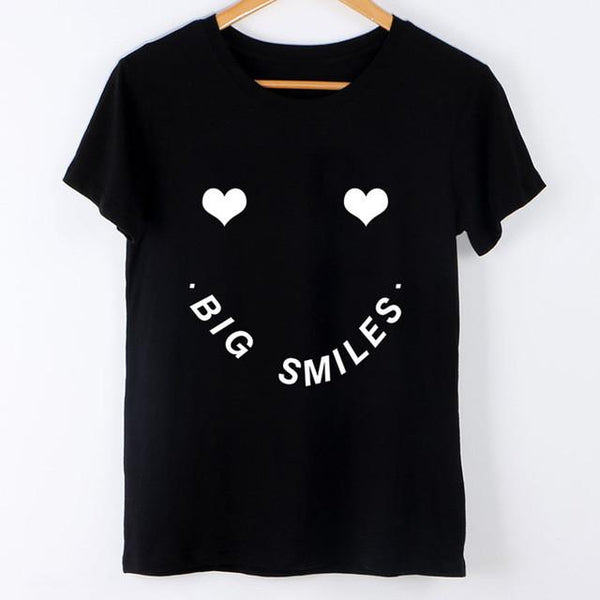 """Big Smiles"" T-Shirt - LovelyMojo"