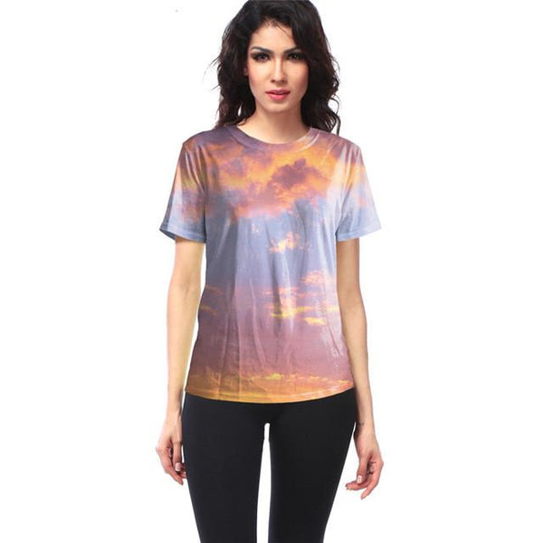 """Sunset Glow"" T-Shirt - LovelyMojo"