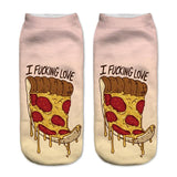 I Love Pizza Socks - LovelyMojo