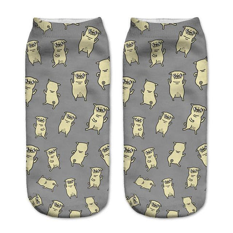 Pug Socks - LovelyMojo