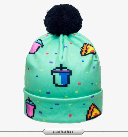 Retro Gaming Beanie - LovelyMojo